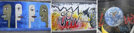 Panels at the East Side Gallery