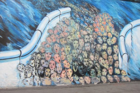 Painting in East Side Gallery