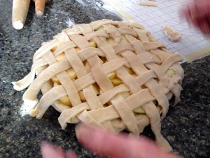 Weaving Crust