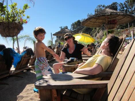 At Paradise Cove