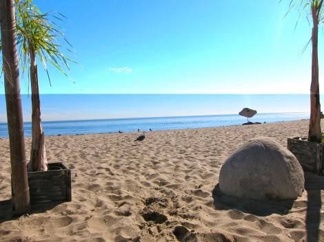 Beach at Paradise Cove by Susan Manlin Katzman
