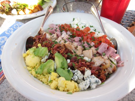 Cobb Salad at Paradise Cove/Susan Manlin Katzman