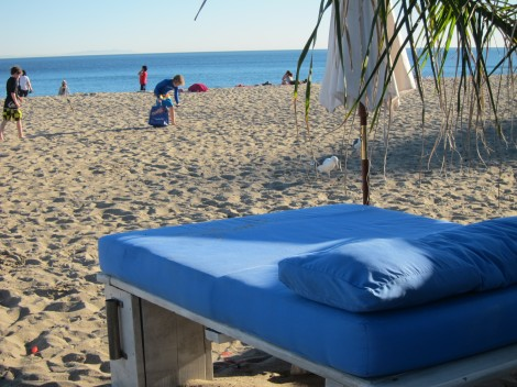 Beds at Paradise Cove