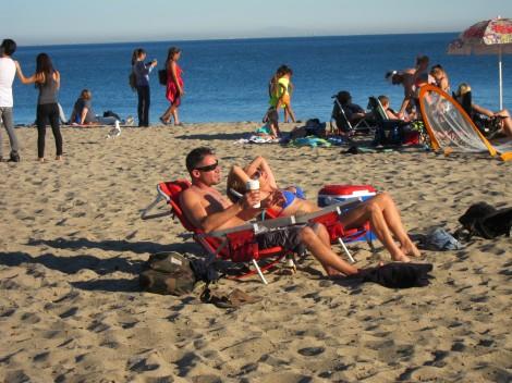 Enjoy Beach at Paradise Cove