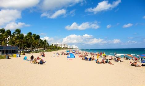 Florida Beach by Susan Manlin Katzman