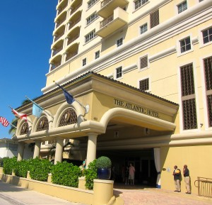 Exterior of The Atlantic Hotel & Spa in Fort Lauderdale