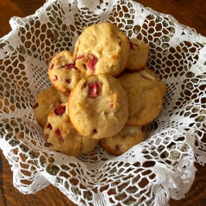 Strawberry and Cream Muffins by Susan Manlin Katzman