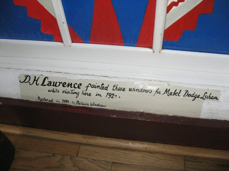 Sign in Mabel Dodge Luhan House