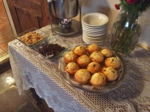 Breakfast at Mabel Dodge Luthan House