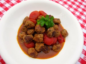 Minchilli Meatballs