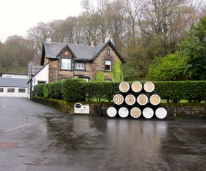 At Glengoyne Distillery