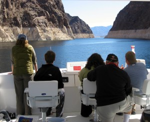 Steering a Houseboat on Lake Mead