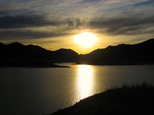 Sunset on Lake Mead by Susan Manlin Katzman