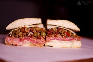 Muffuletta Photo by Maya Gann-Bociek