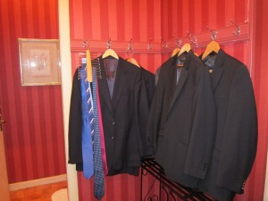 Coats and ties are required at dinner at Inverlochy Castle Hotel