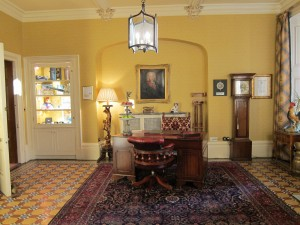 Entry Hall at Inverlohy Castle Hotel