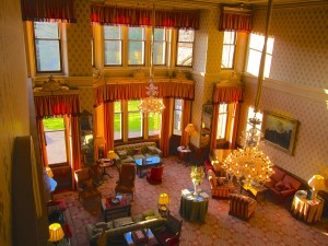 The Great Hall at Inverlochy Castle Hotel