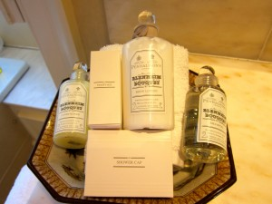 Toiletries at Inverlochy Castle Hotel