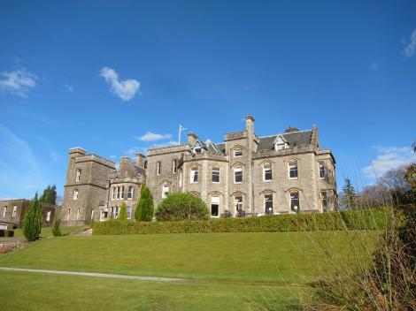 Inverlochy Castle Hotel by Susan Manlin Katzman