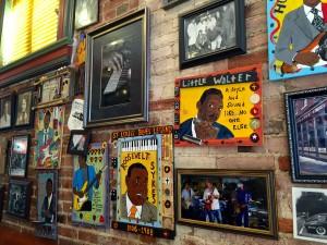 Art Walls at Blue's City Deli