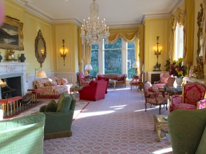 The Drawing Room at Inverlochy Castle Hotel