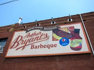 Arthur Bryant Barbecue Sign