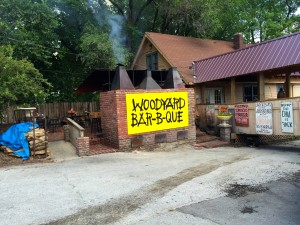 Woodyard Bar-B-Q by Susan Manin Katzman