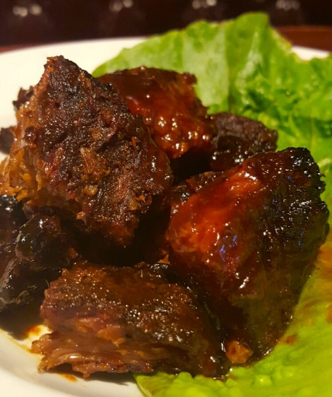 The Shaved Duck's Burnt Ends