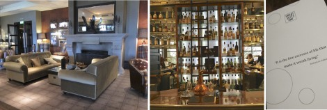Great Scots Bar collage by Susan Manlin Katzman