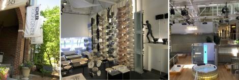 Kohler Design Center Collage