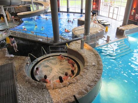 Indoor Pool at Cameron House by Susan Manlin Katzman