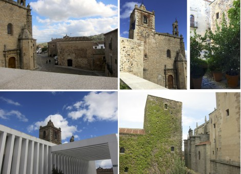Views of Caceres from Atrio