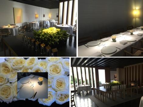 Dining Tables at Atrio by Susan Manllin Katzman