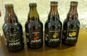 Caceres Famous Beers by Susan Manlin Katzman