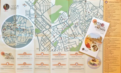 Map of Careers Culinary Trails by Susan Manlin Katzman