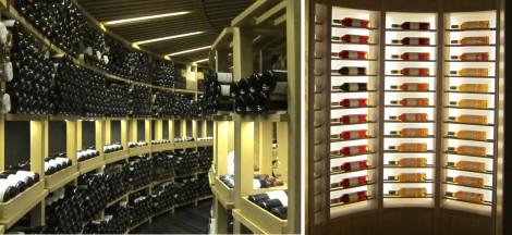 Atrio's Wine Cellar by Susan Manlin Katzman