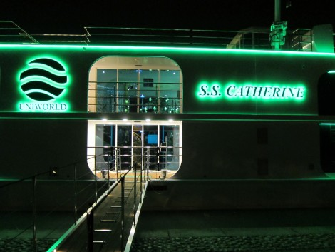 The S. S. Catherine at Night