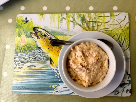 Smoked Salmon Pate at Inverawe Cafe