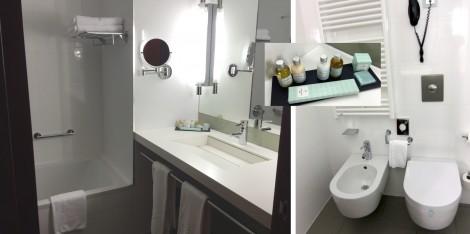 Bathroom of room in Parador de Caceres by Susan Manlin Katzman