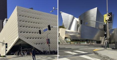The Broad and Walt Disney Concert Hall