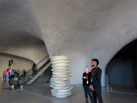 Entrance of The Broad