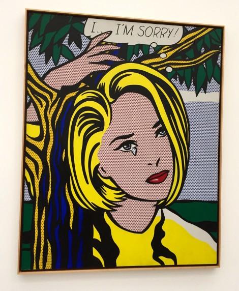 Roy Lichtenstein's I...I'm Sorry!