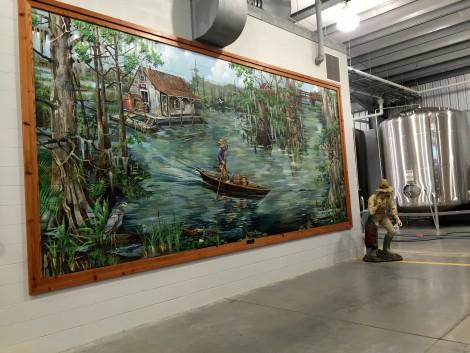 Louisiana Spirits Mural