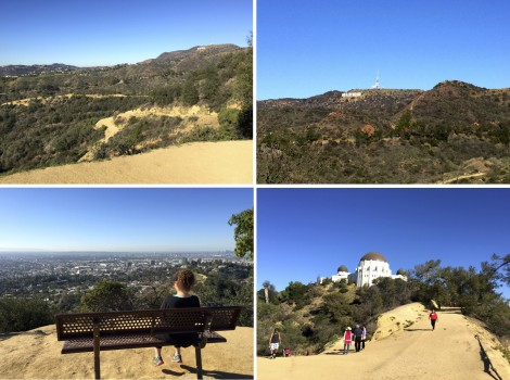 Trails at Griffith Park Collage by Susan Manin Katzman