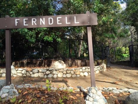 Ferndell Sign by Susan Manlin Katzman