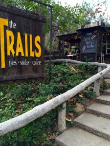 Trails Sign by Susan Manlin Katzman