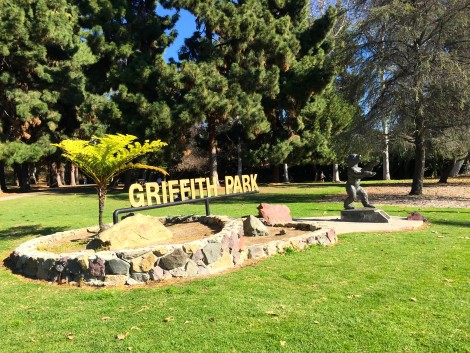 Griffith Park Sign