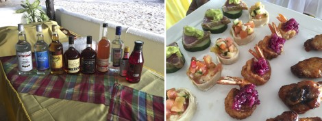 Rum and Canapés at Anse Chastanet
