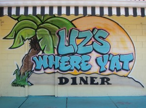 Where Y'at Diner Sign by Susan Manlin Katzman