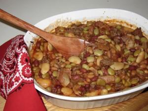 Roosevelt Beans by Susan Manlin Katzman
